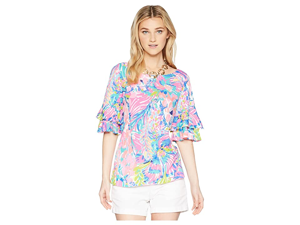 Lilly Pulitzer - Lilly Pulitzer Lula Top , Multi
