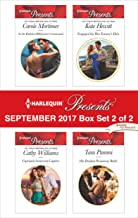Harlequin Presents September 2017 - Box Set 2 of 2: An Anthology