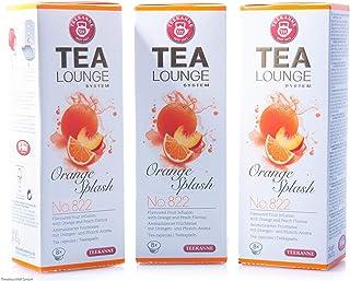 Teekanne Tealounge Kapseln - Orange Splash No. 822 Früchtetee 3x 8 Kapseln