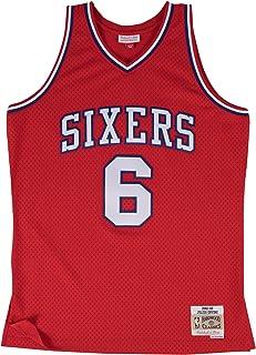 Mitchell   Ness Julius Erving Philadelphia 76ers  6 NBA Men s HWC Swingman  Jersey 5959d61f1