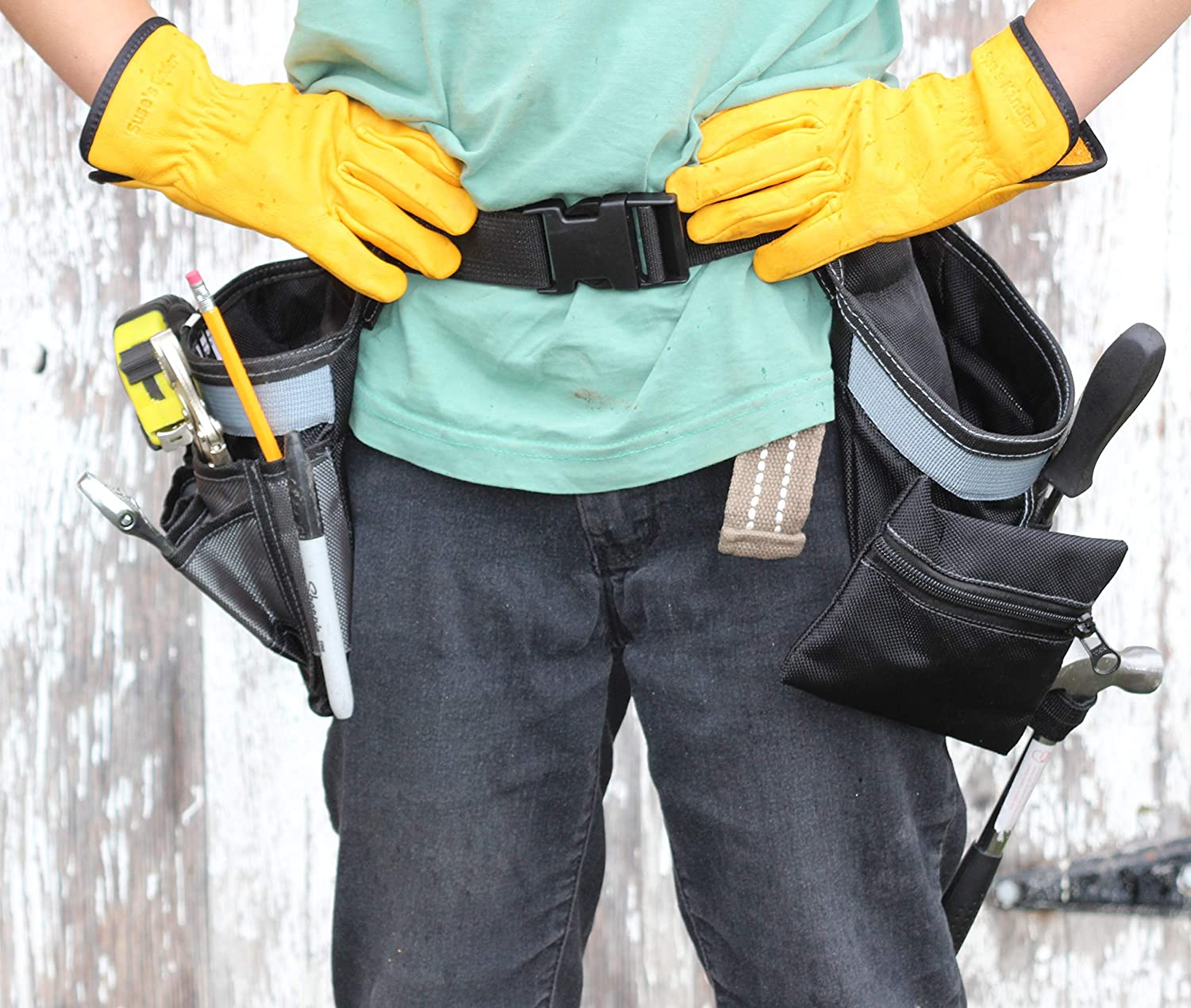 Kids Tool Belt Heavy Duty Nylon Year-end annual account Pocket Apron Work Multi Be Reservation