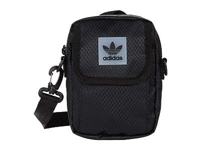 adidas Originals Originals Utility Festival Crossbody Bag (Black) Handbags