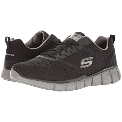 SKECHERS Equalizer 2.0 True Balance (Black/Charcoal) Men