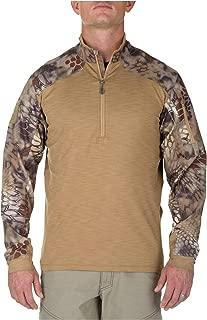 5.11 Tactical Men's Rapid Half Zip Long Sleeve Shirt, Moisture Wicking, Odor Control, Style 72444