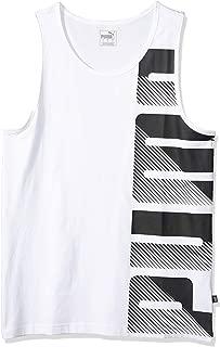 PUMA Men's Summer Logo Tank Top