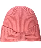Kate Spade New York - Solid Bow Beanie