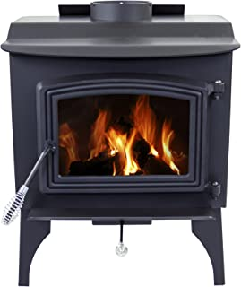 Pleasant Hearth 1,200 Sq. Ft. Small Wood Burning Stove