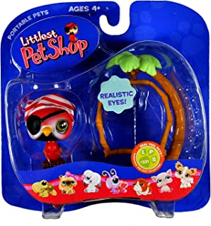 Littlest Pet Shop Pets On the Go Figure Parrot with Swing