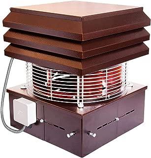 Extractor de humo, Extractores de humo para chimeneas para barbacoa, Aspirador de humos para chimenea modelo profesional Gemi Elettronica