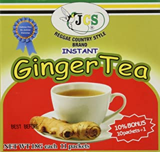 1 X JCS Instant Ginger Tea - Product of Thailand (18G. 11 PACKS)