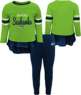 NFL Girls Mini Formation Long Sleeve Top & Legging Set