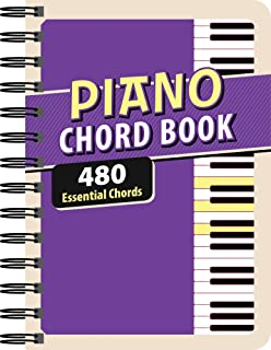 Piano Chord Book: 480 Essential Chords