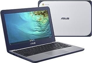 "ASUS Chromebook C202XA Rugged & Spill Resistant Laptop, 11.6"" HD, 180 Degree, MediaTek 8173C Processor, 4GB RAM, 32GB Stor..."