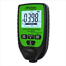 Digital Coating Thickness Gauge CM-205FN / Automatic Thickness Paint Meter for Ferrous and Non-Ferrous Metals (CM-205FN)