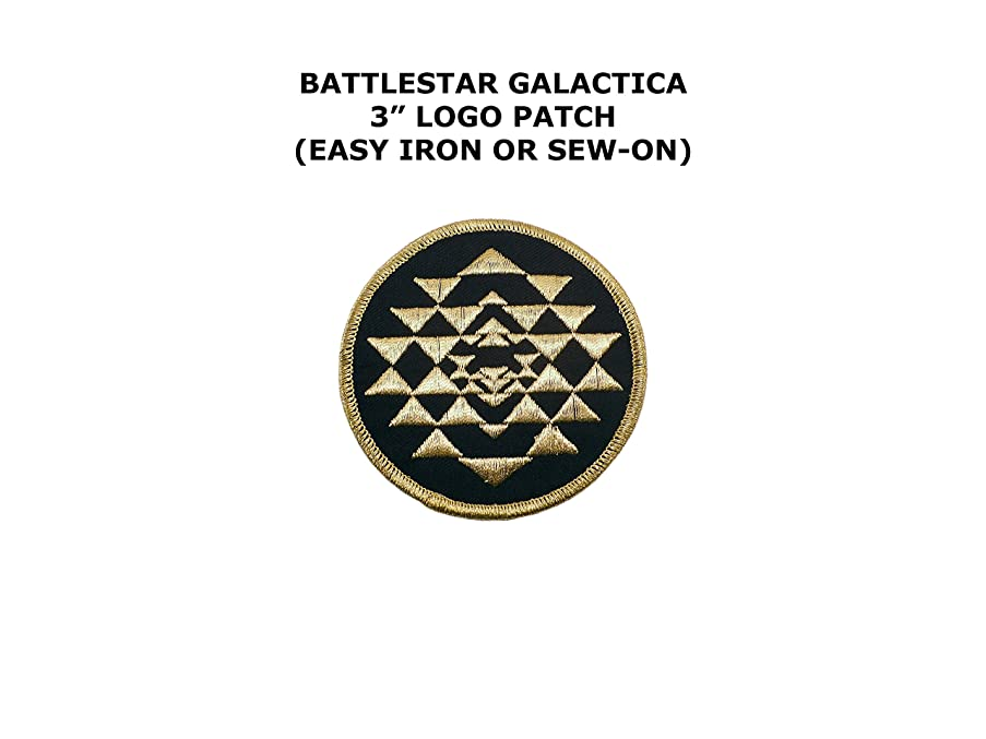Battlestar Galactica Colonial Warrior Embroidered Iron/Sew-on Sci-Fi Theme Logo Patch/Applique