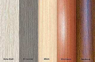 Perfil de transición, perfil de adaptación, perfil de compensación, 40 mm. Decoración de madera: color gris roble (C-01)