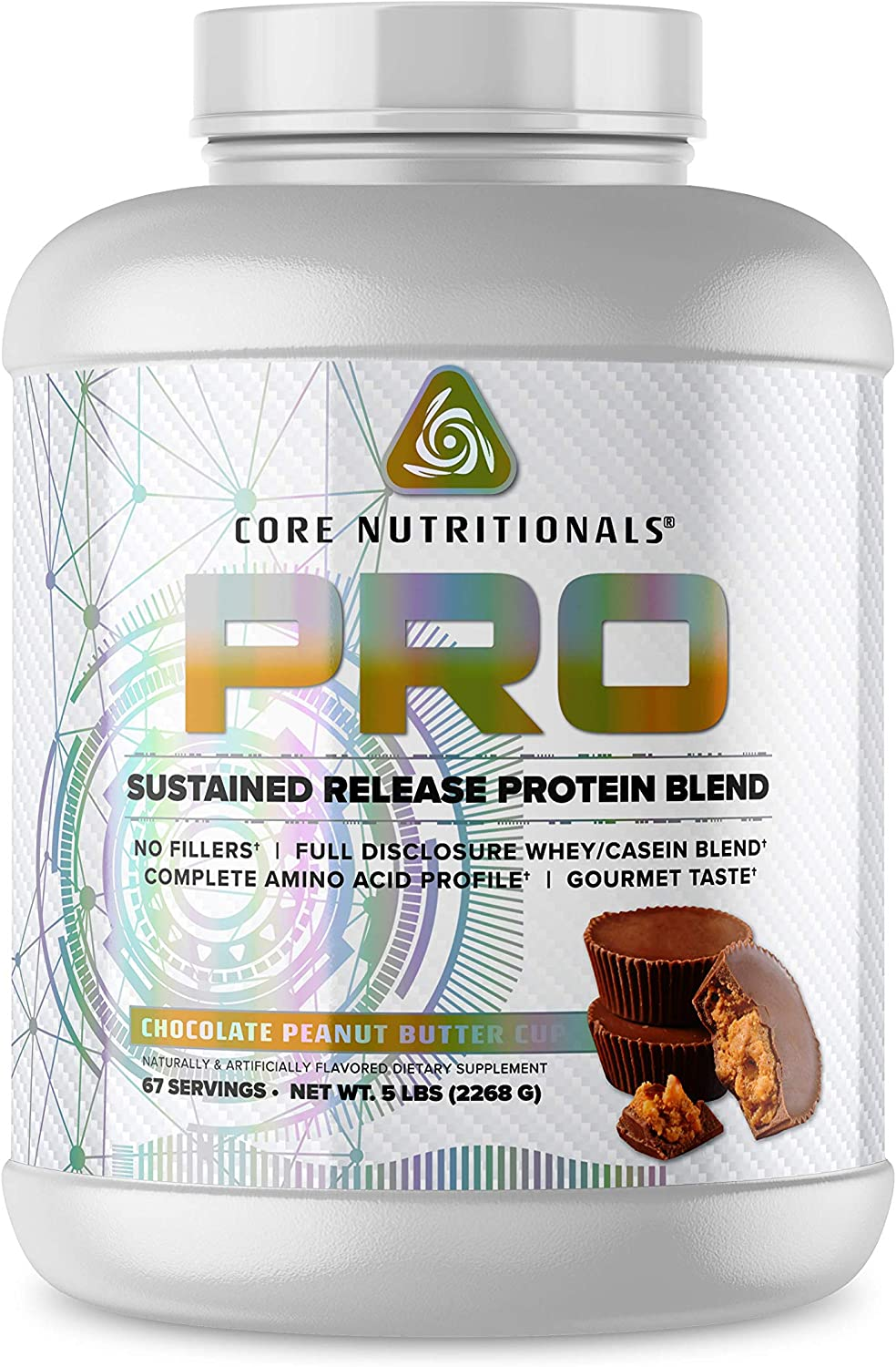 Core Import Nutritionals Pro Sustained Regular discount Blend Release Protein Digestive