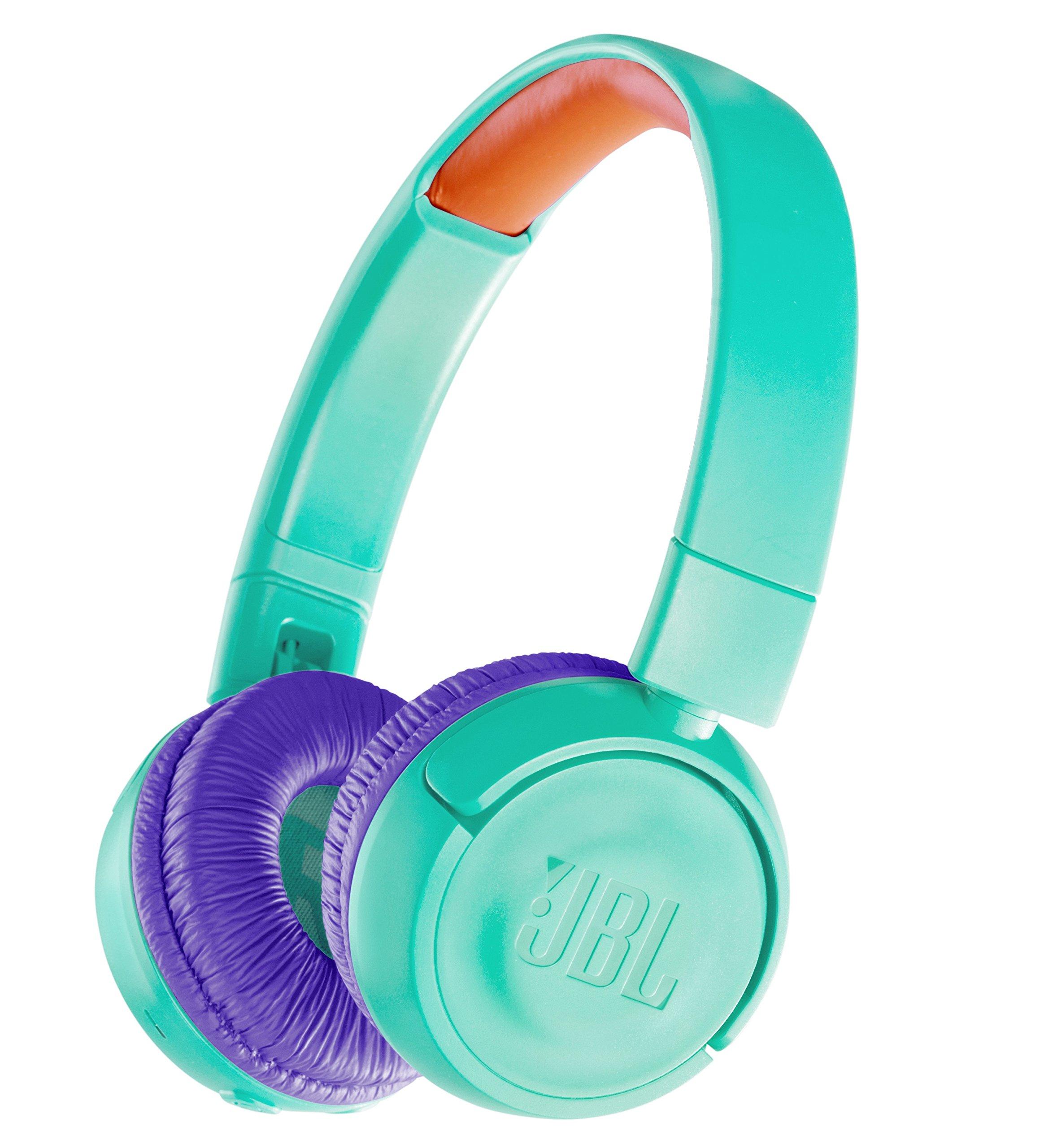JBL音量調節機能付きヘッドフォン/カスタムステッカーJBLJR300BTTELワイヤレス(Bluetoothサポート)