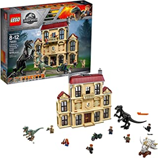 LEGO Jurassic World Indoraptor Rampage at Lockwood Estate 75930, Building Kit Set (1019 Piece)