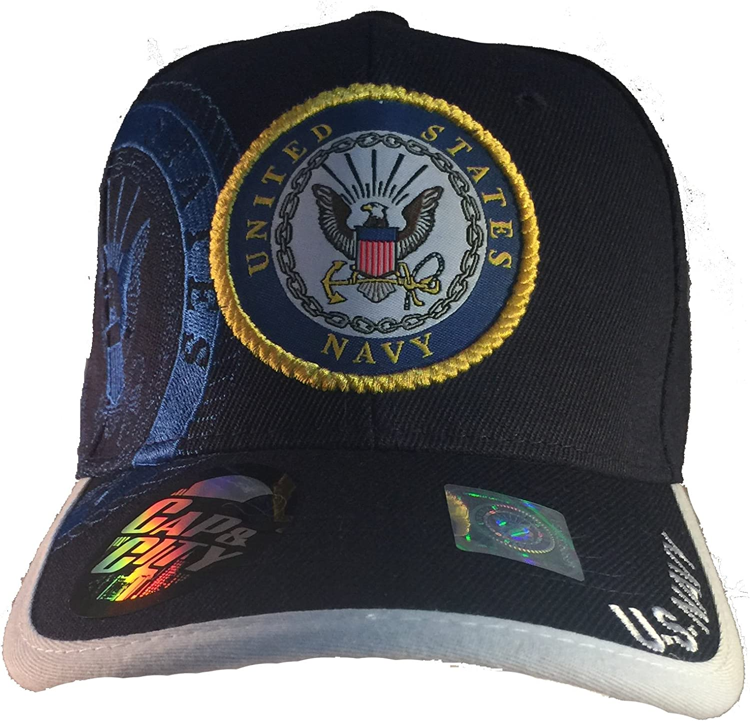 EZ Gifts Officially Licensed US NAVY Military Baseball Cap Hat NEW