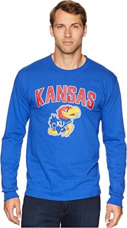 Kansas Jayhawks Long Sleeve Jersey Tee