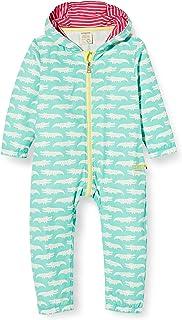 loud  proud Baby-Mädchen Outdoor Overall Organic Cotton Strampler