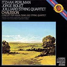 Best chausson concerto for violin piano and string quartet Reviews