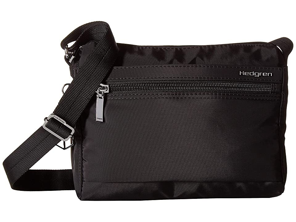 Hedgren Eye RFID Shoulder Bag (Black) Shoulder Handbags ab1a0db30e92a