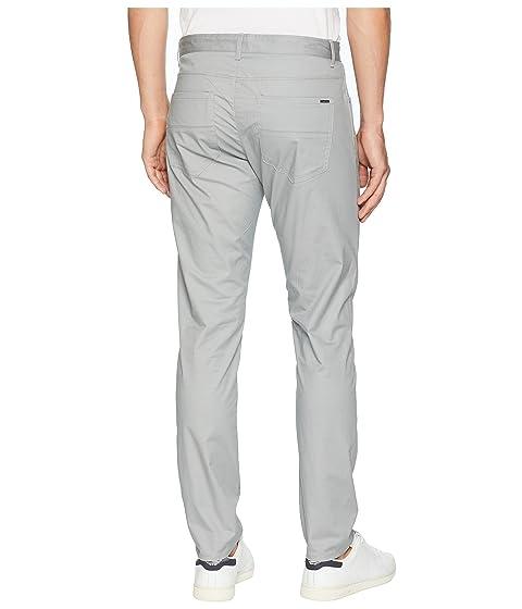 cinco puro de gris pantalones de y espiga bolsillos Klein Calvin micro wX6xPP
