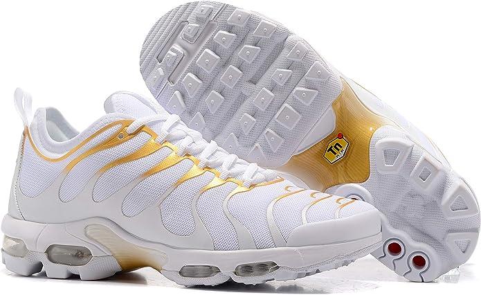 TN Sneaker Air Plus Tn, Baskets pour femme - Ecru - or Blanc, 37 ...