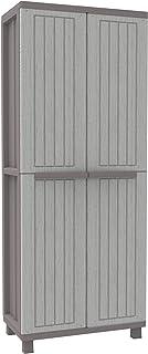comprar comparacion Terry Jwood 368 Armario 2 Puertas con una estanteria Interna con 4 fijos. Capacidad máxima del Estante: 10 kg distribuidos...