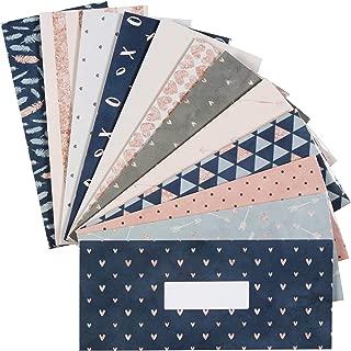 12 Budget Envelopes. Laminated Cash Envelope System for Cash Savings Plus 12 Budget Sheets.