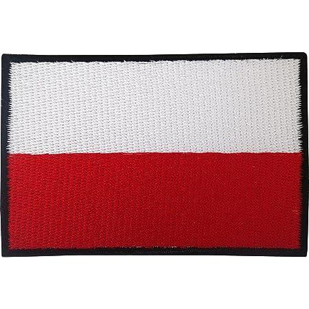 40 X 25 Mm Polen Flagge Polska Poland Flag Patch Aufnäher Aufbügler 0660 A Auto