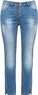 Ulla Popken, Damen, Große Größen, Jeans Mit Seitenschlitz Am Saum, Sarah Mujer