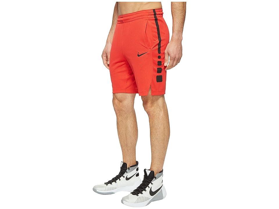 Nike Elite Stripe Basketball Short (University Red/University Red/Black) Men