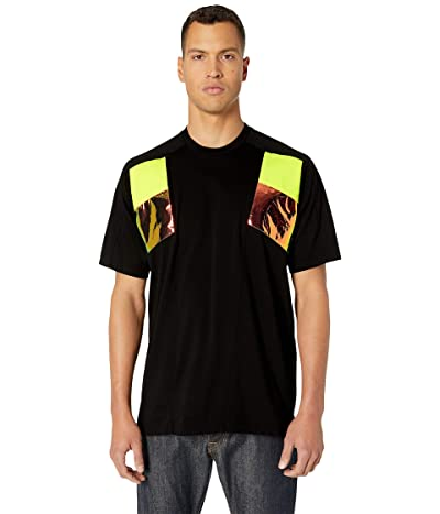 DSQUARED2 Insert Slouch Fit T-Shirt (Black) Men