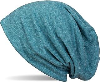 styleBREAKER klassieke slouch beanie cap, licht en zacht, longbeanie, unisex 04024018