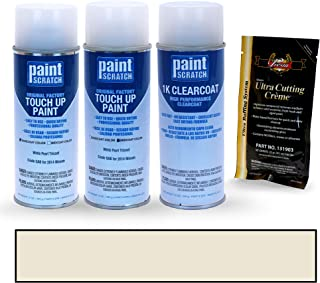 PAINTSCRATCH White Pearl Tricoat QAB for 2014 Nissan Altima - Touch Up Paint Spray Can Kit - Original Factory OEM Automotive Paint - Color Match Guaranteed