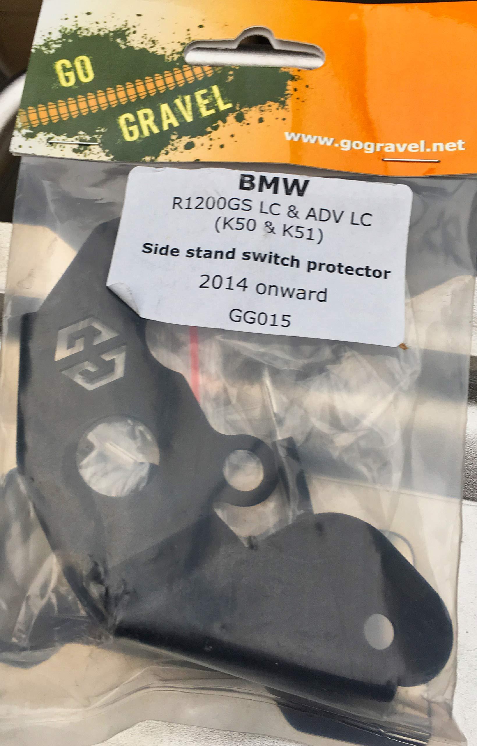 GoGravel K51 Escudo t/érmico de escape y protecci/ón de equipaje suave para BMW R1200GSA y R1250GSA LC