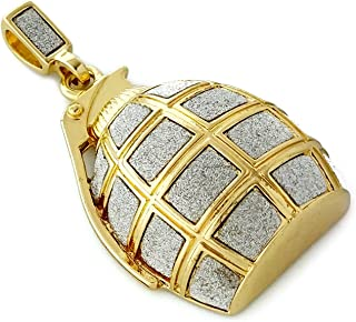 Grenade Large Pendant Necklace with 30