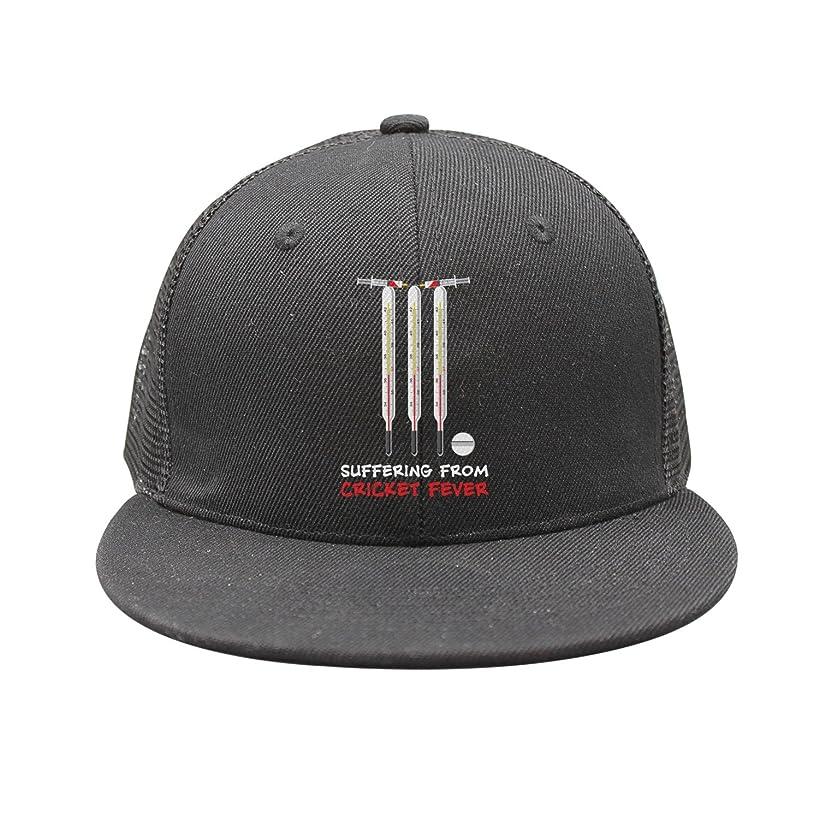 Kijhsaa Cricket Fever Love Unisex Classic Mesh Back Plain Caps Snapback