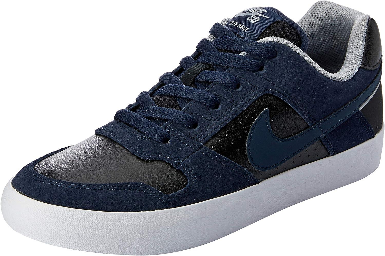 Nike MENS SB DELTA FORCE VULC OBSIDIAN BLACK WOLF GREY SIZE 8