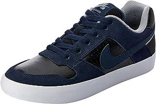 Nike Men's SB Delta Force Vulc Shoes, Obsidian, Obsidian-Black-Wolf Grey, 10 US
