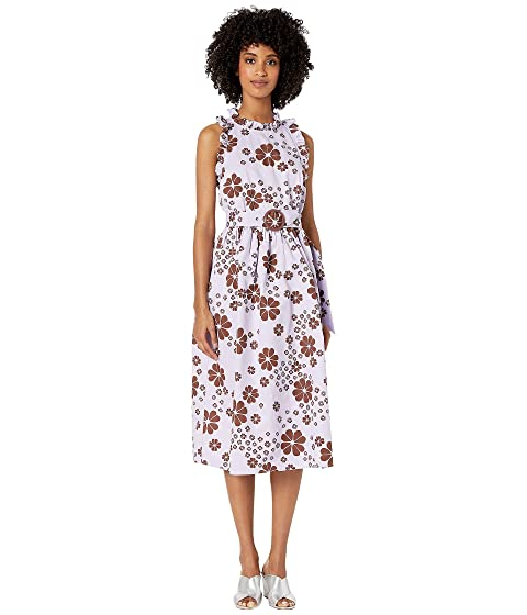 Kate Spade New York Floral Midi Dress