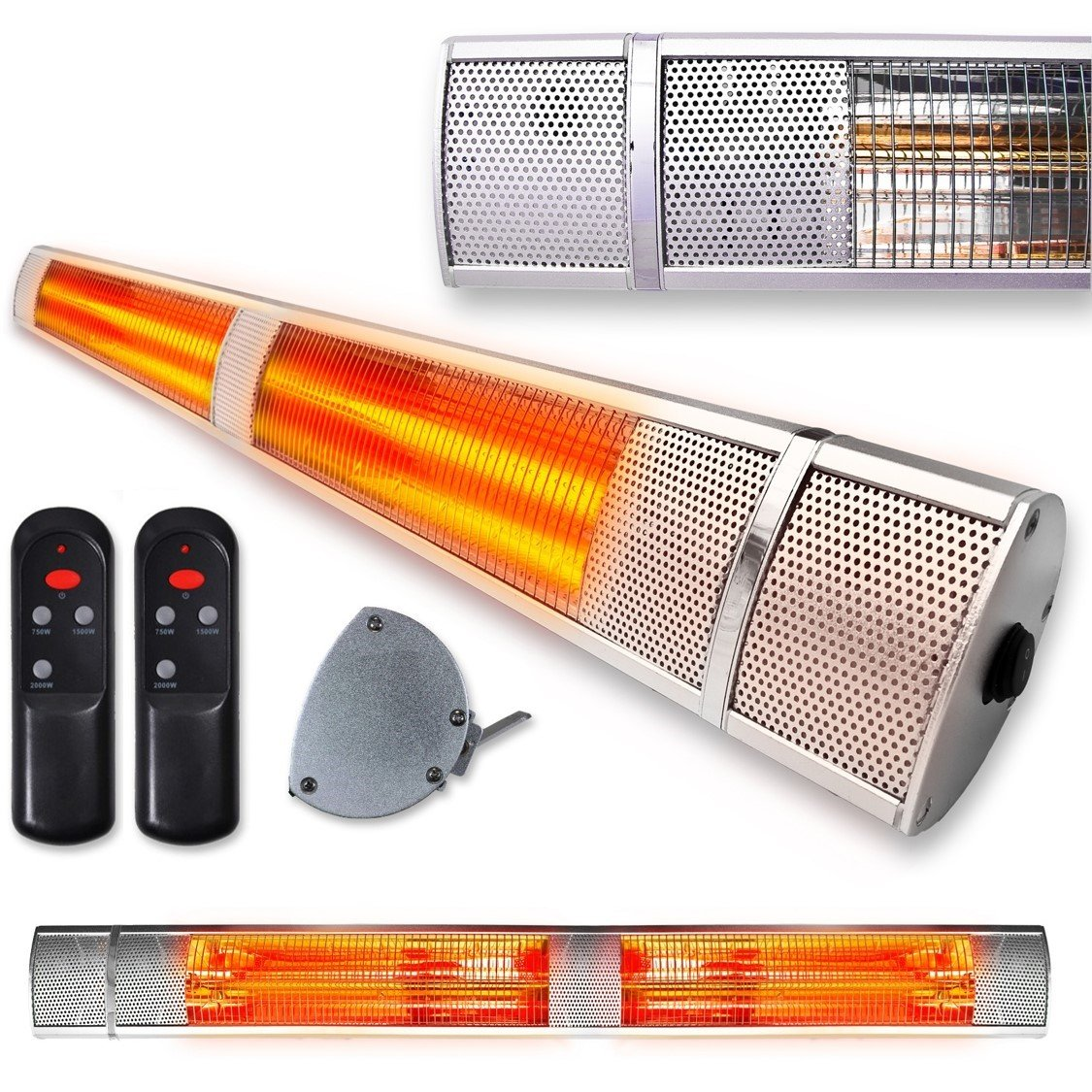 Infrared Electric Bathroom Heater