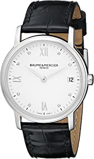 Baume & Mercier Women's BMMOA10146 Classima Analog Display Swiss Automatic Black Watch