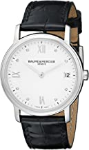 Baume & Mercier Women's BMMOA10146 Classima Analog Display Swiss Automatic Black Watch