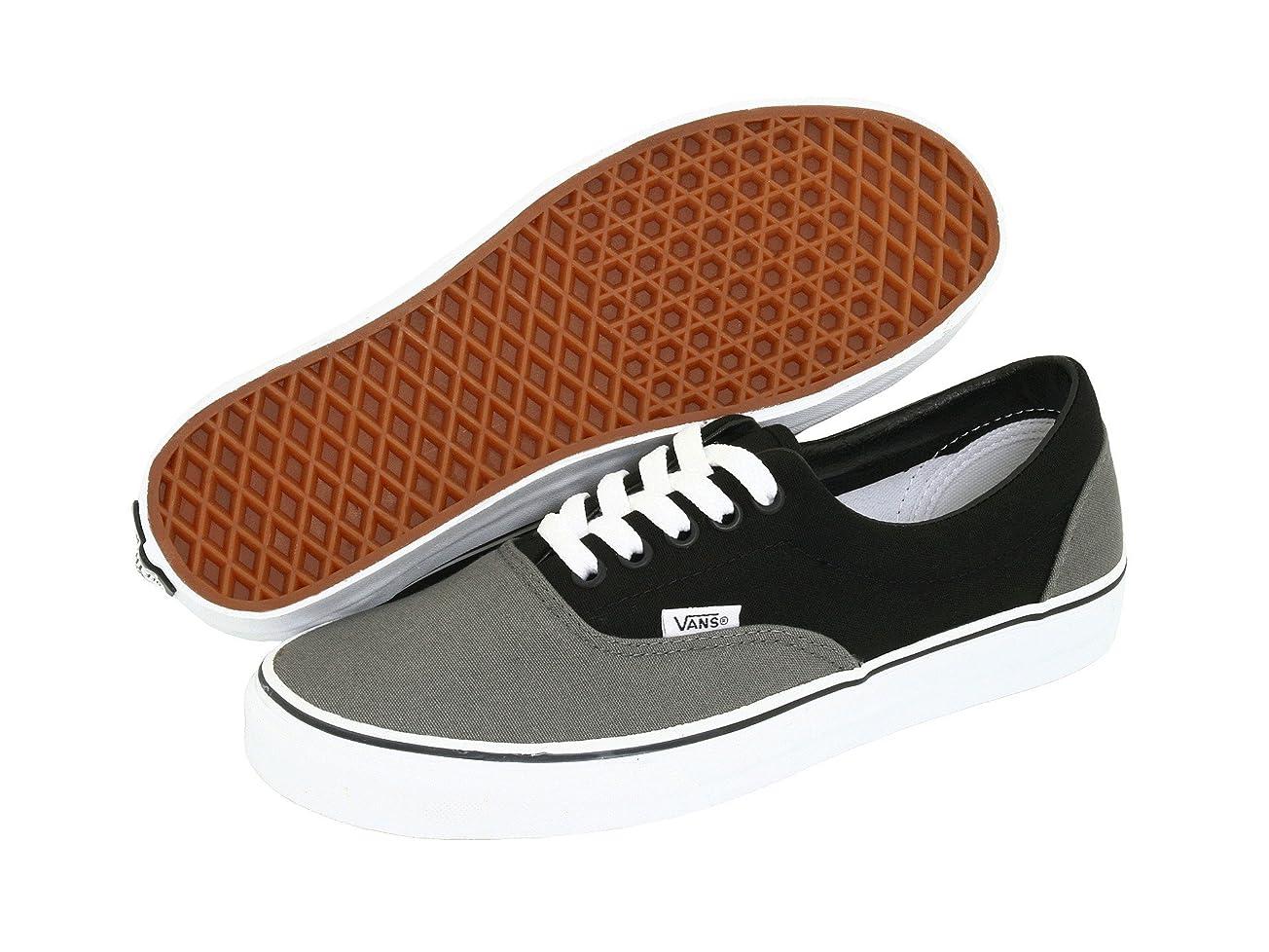スカープ付属品退屈な(バンズ) VANS メンズスニーカー?靴 Era Core Classics Pewter/Black/Metal Crush/Nappa Wax Men's 4.5, Women's 6 (22.5cm(レディース23cm)) Medium