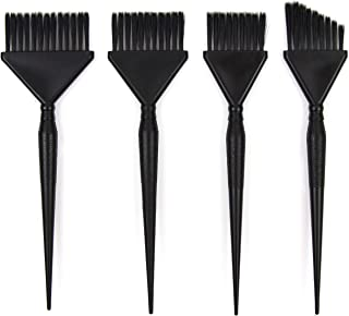 Hair Dye Brush Set - 4 Color Brushes for Hair Salon - Highlight Brush - Hair Color Brush - Balayage Brush - Hair Tint Brus...