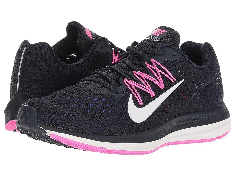 Nike Air Zoom Winflo 5 (Obsidian/Summit White/Dark Obsidian) Women